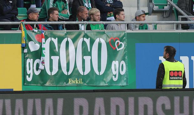 Go Gogo Go - die Rapid-Fans wurden nach der vierten Saison-Niederlage erhört.