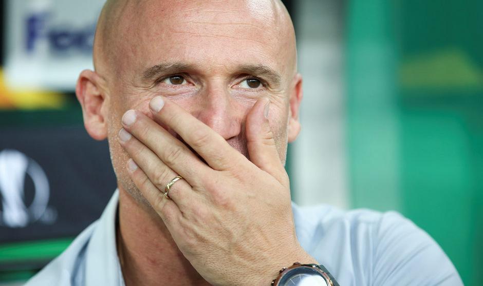 Knalleffekt in Hütteldorf: Rapid setzte Trainer Goran Djuricin vor die Tür.