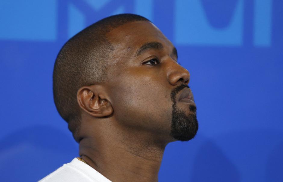 US-Rapper Kanye West.