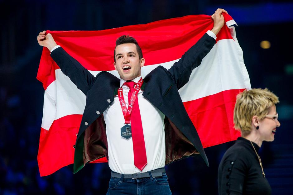 In Budapest holte Michael Ploner die Silbermedaille.