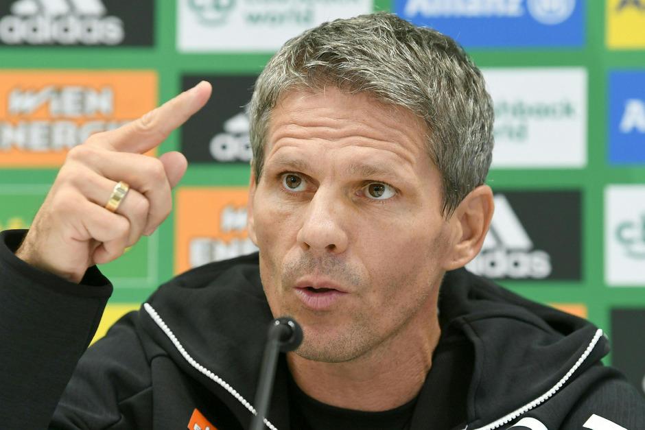 Neo-Rapid-Coach Dietmar Kühbauer.