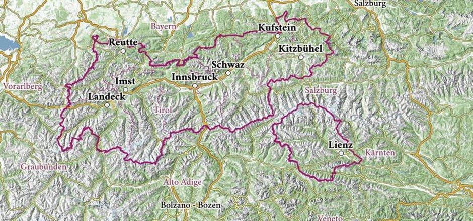 Karte Tirol.Landesarchiv Stellt Historisches Kartenmaterial Tirols Online