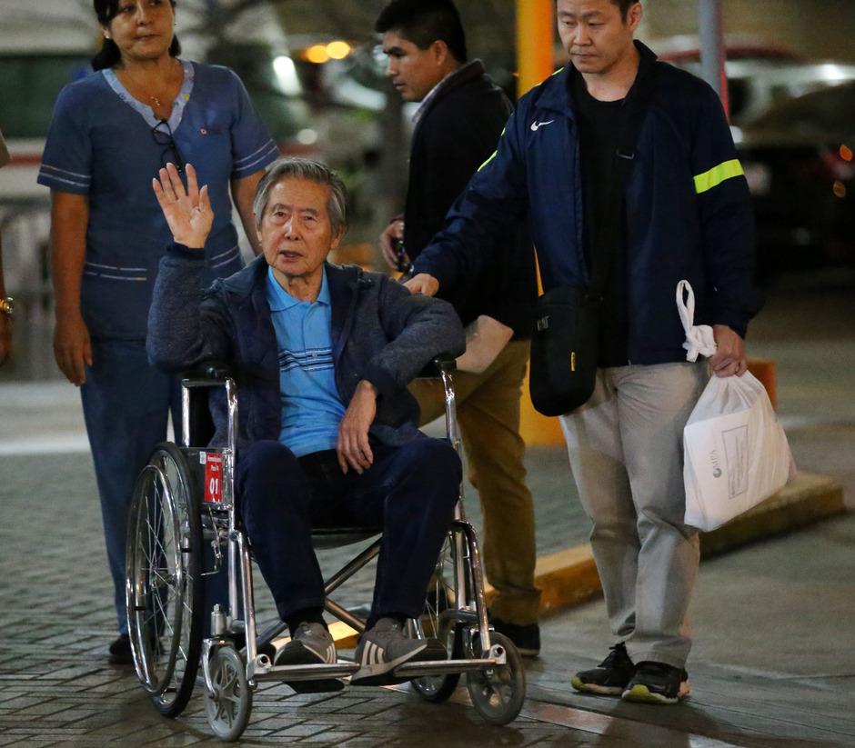 Alberto Fujimori soll zurück ins Gefängnis.