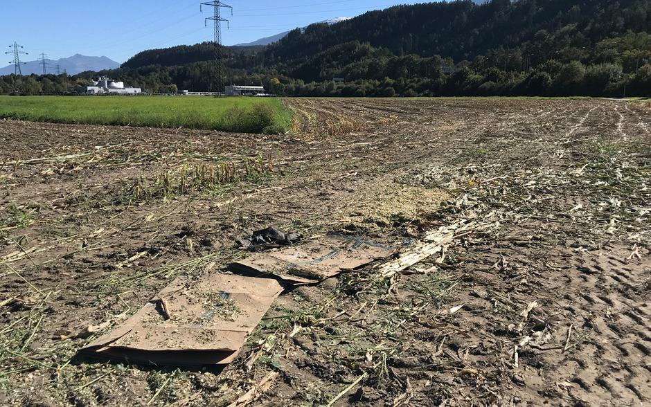 Ein 38-Jähriger hatte in dem Maisfeld geschlafen, als der Mähdrescher ihn erfasste.