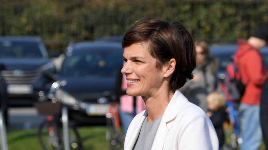 Pamela Rendi-Wagner vor der Präsidiumssitzung des SPÖ-Parlamentsklubs in Wien.