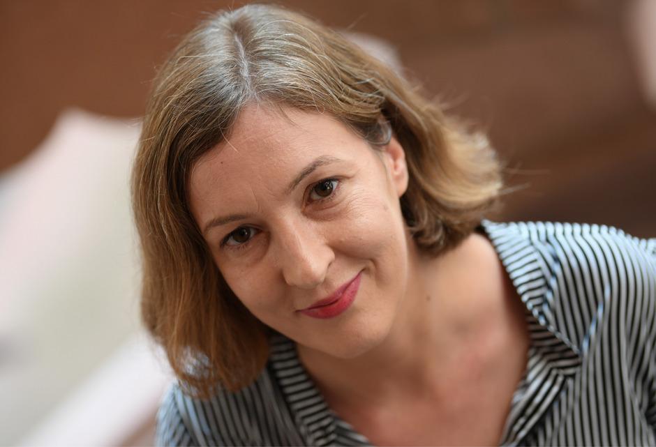 Inger-Maria Mahlke erhält den Deutschen Buchpreis 2018.