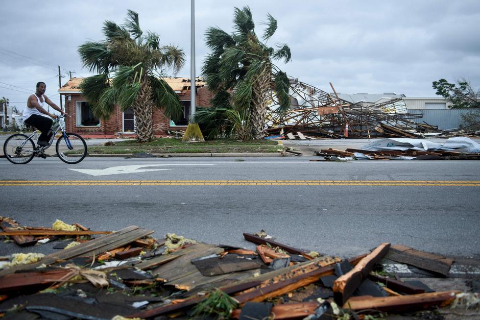 """""""Unglaubliche Zerstörung"""": Hurrikan """"Michael"""" fegte über Florida"""