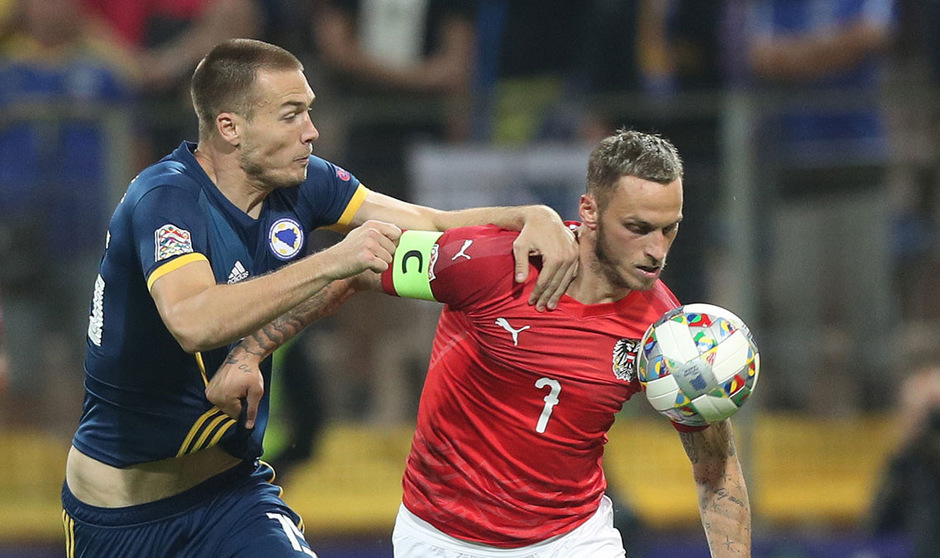 Die Agenden beim ÖFB-Team konzentrieren sich auf den möglichen Kapitän Marko Arnautovic.