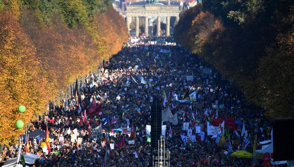 Die Veranstalter hatten mit 40.000 Teilnehmern gerechnet, am Ende waren es beinahe 250.000.
