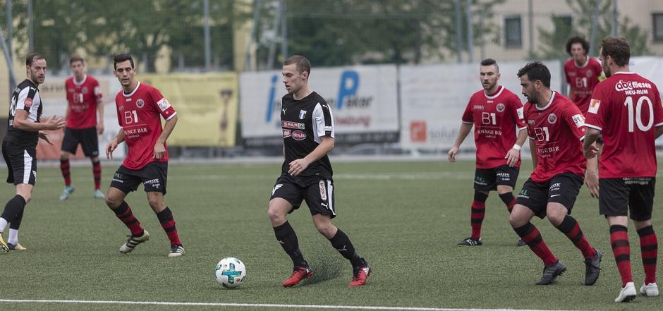 Lukas Marasek und der FC Kufstein feierten einen 2:0-Erfolg gegen Bischofshofen.