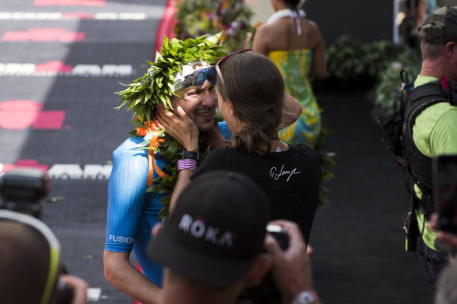 Erst der Triumph, dann machte Patrick Lange seiner Freundin einen Heiratsantrag.
