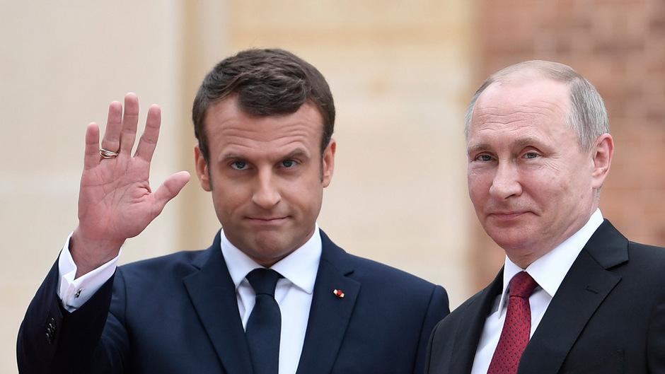 Putin bei Feier zu 100 Jahre Ende des Ersten Weltkriegs in Paris