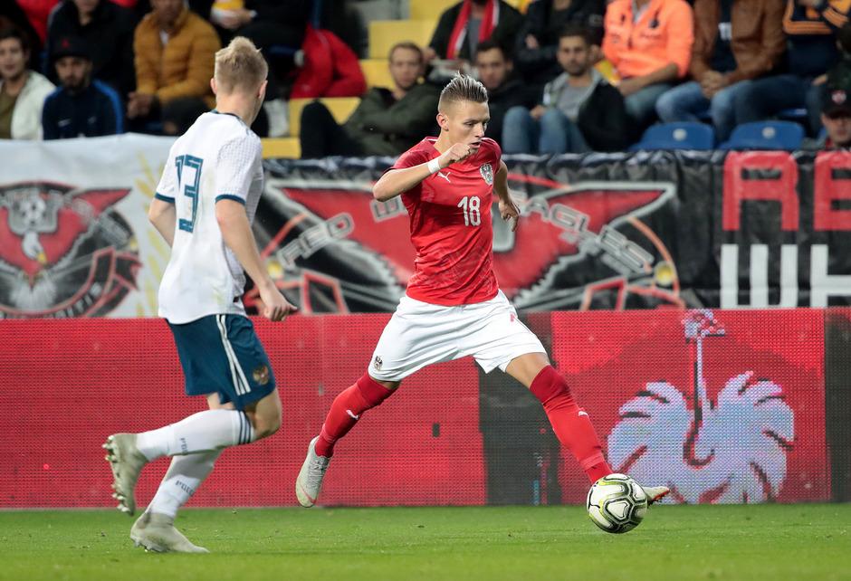 Hannes Wolf (r.) löste mit dem ÖFB-U21-Team ein Ticket fürs EM-Play-off.