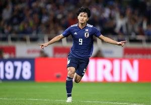 Takumi Minamino glänzte im Dress von Japan als Doppeltorschütze.