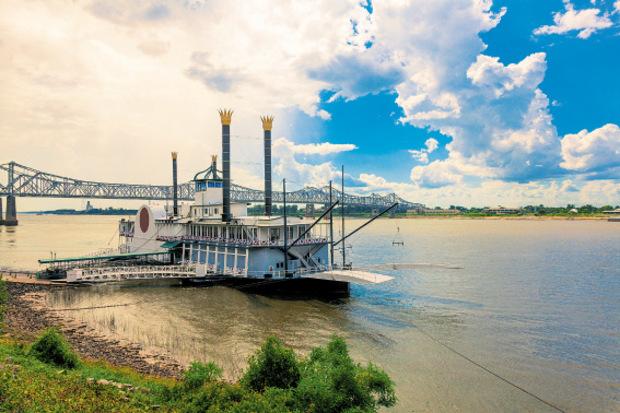 Über den Mississippi kamen die ersten Siedler Ende des 17. Jahrhunderts in die Gegend.