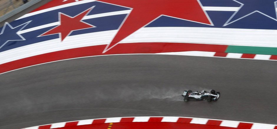 Lewis Hamilton in Austin.