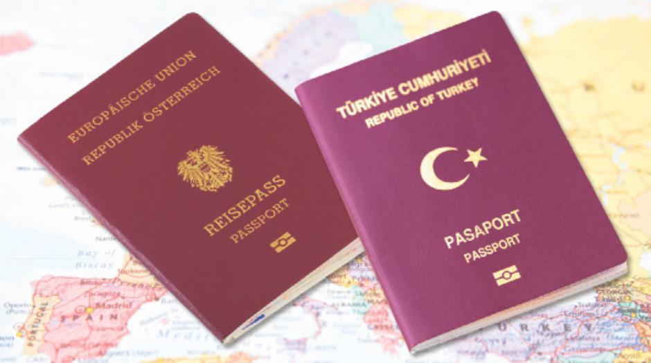 Die Behörden nehmen illegale österreichisch-türkische Doppelstaatsbürgerschaften ins Visier.