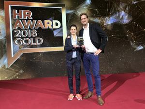 Nicole Meyer und Florian Gottschaller von der Spendit AG.