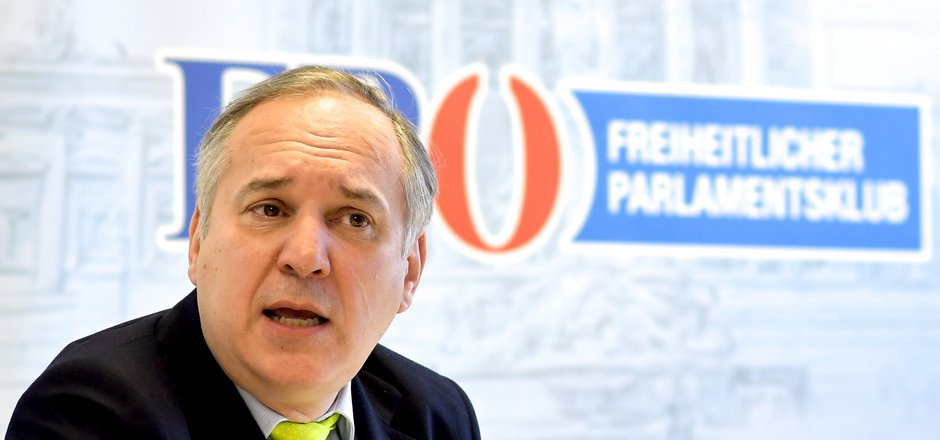 FPÖ-Klubchef Walter Rosenkranz.