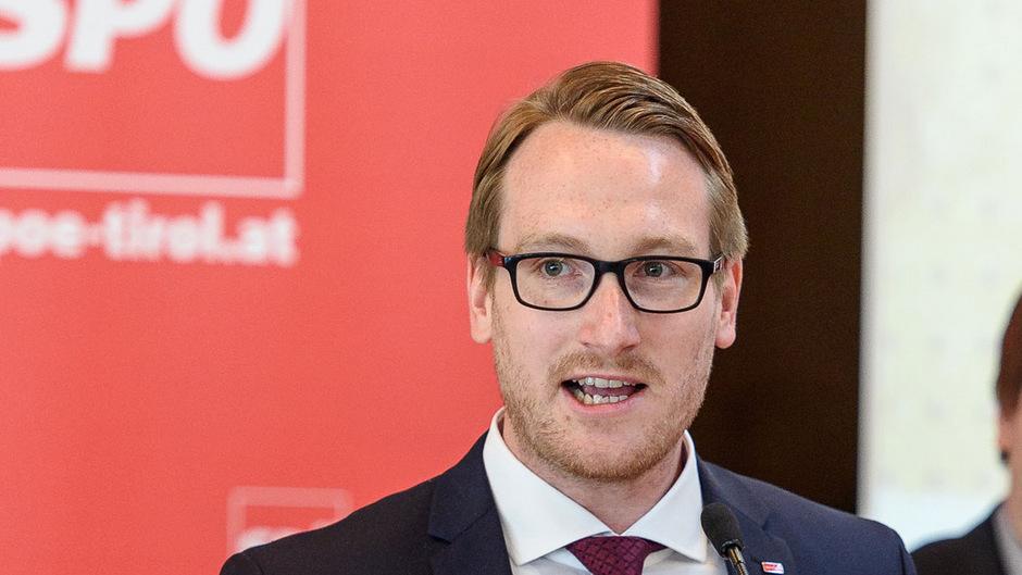 Tirols ÖGB-Chef Philip Wohlgemuth setzt auf Sozialpartnerschaft.