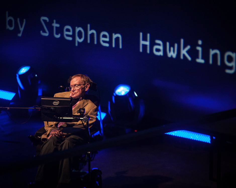 Stephen Hawking starb am 14. März 2018.