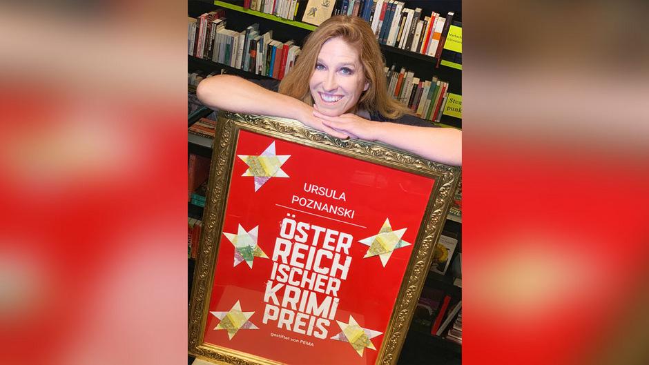 Die Wiener Schriftstellerin Ursula Poznanski wurde am Freitagabend mit dem Österreichischen Krimipreis ausgezeichnet.