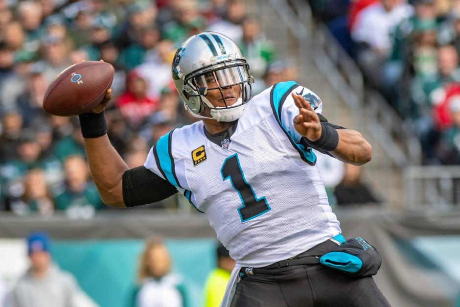 Carolina-Quarterback Cam Newton führte sein Team zum Sieg.