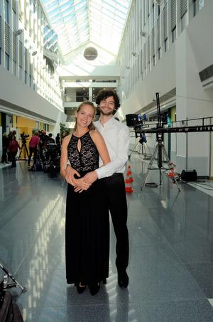 Heidrun Pfeil und Aaron Karl haben in der Lichthalle ihren großen Auftritt.