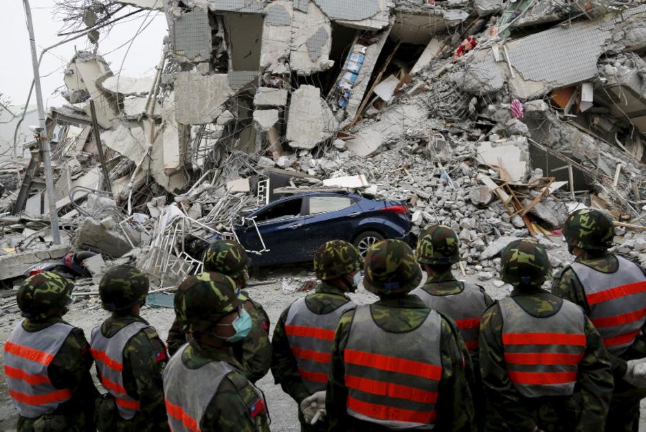 Immer wieder kommte es in Taiwan zu schweren Erdbeben.