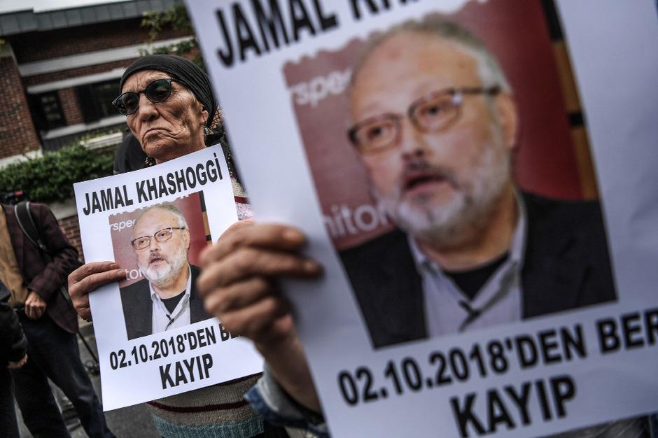 Jamal Khashoggi wurde in der  saudischen Botschaft in Istanbul getötet.