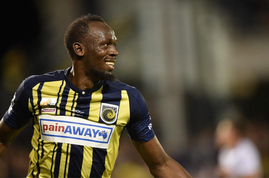 Usain Bolt kämpft um seine Fußball-Karriere.