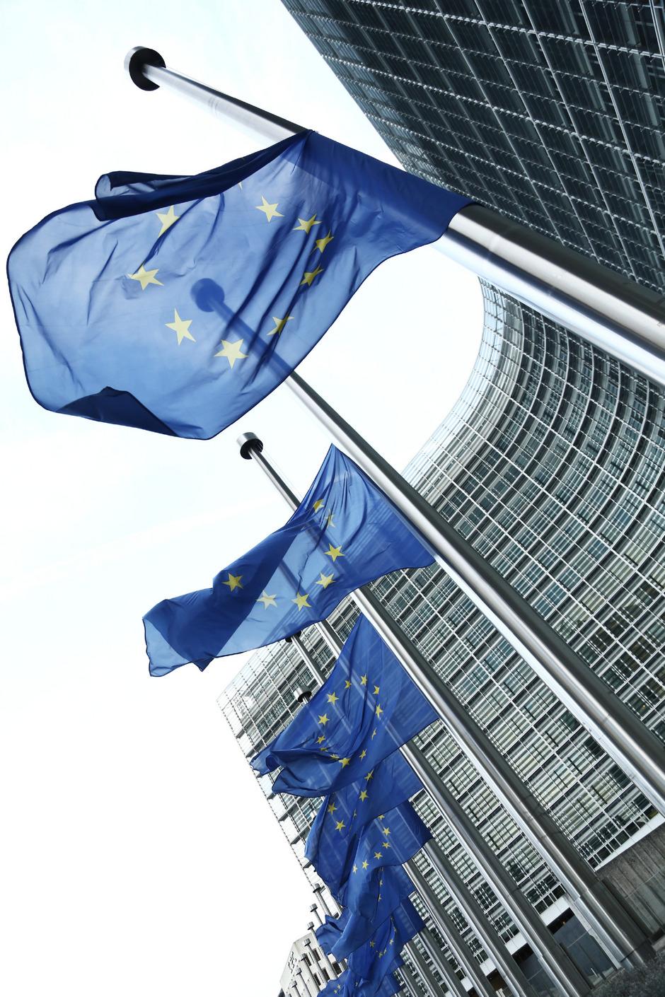 Der Sitz der EU-Kommission.