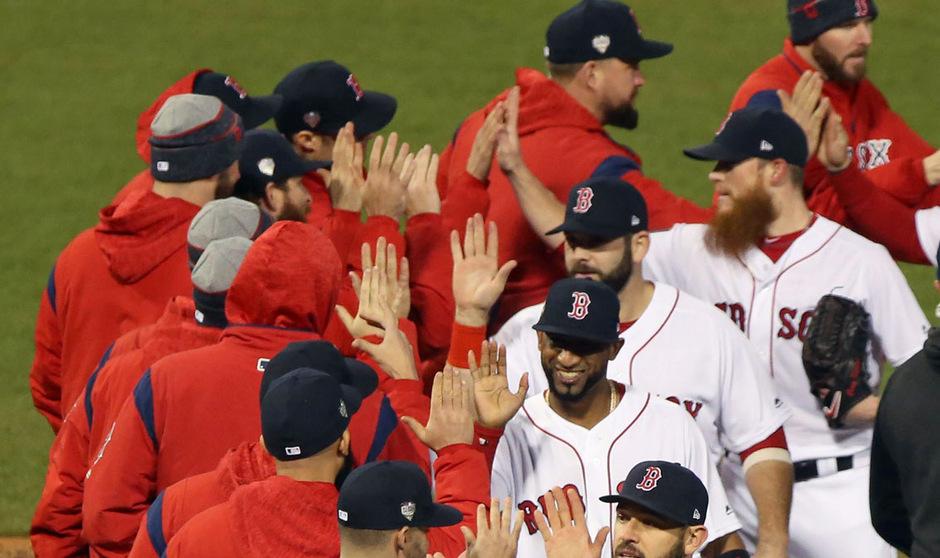 Die Boston Red Sox gingen im ersten Final-Spiel als Sieger vom Feld.