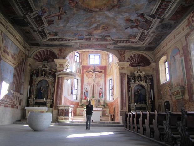 In der Heiligkreuzkirche wird man beeindruckt sein.