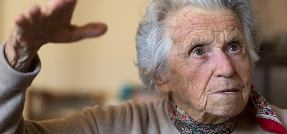Elsa Roilo hat zwei Weltkriege erlebt und ein arbeitsreiches Leben geführt. Die rüstige 103-Jährige blickt zurück.