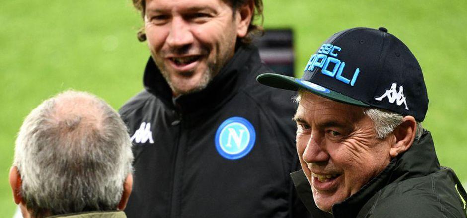 Beim SSC Napoli fühlt sich Carlo Ancelotti wieder wohl.