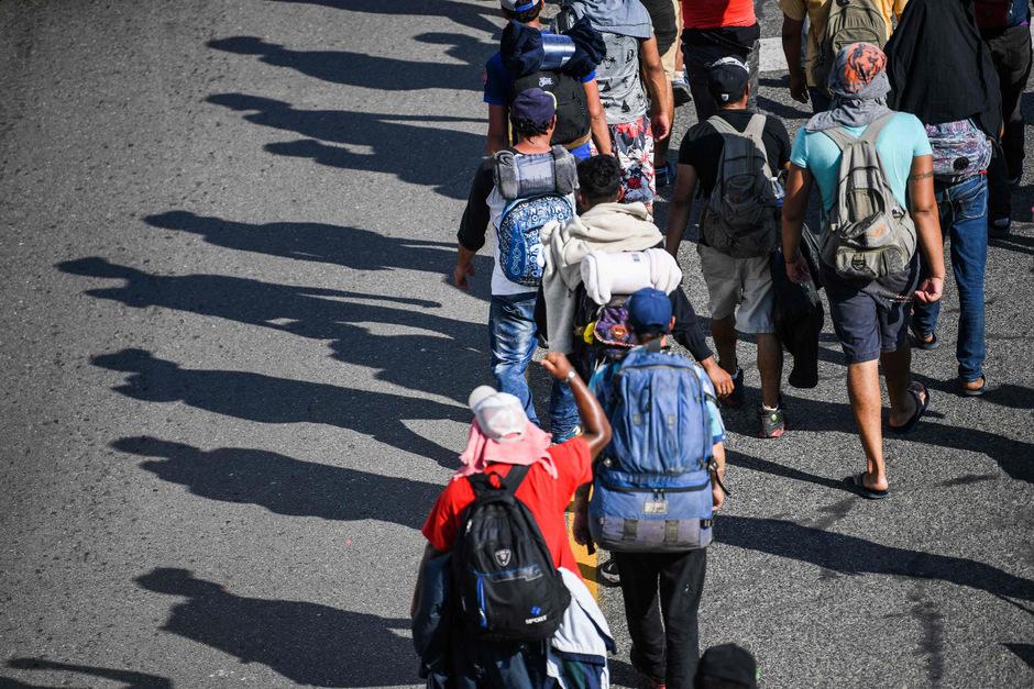 Tausende Migranten sind auf dem Weg in die USA.