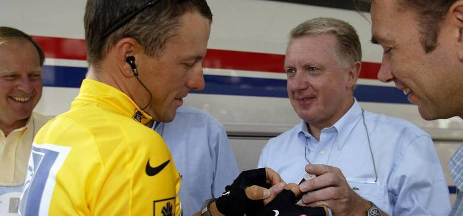 Johan Bruyneel war bei Lance Armstrongs sieben Tour-Titeln als Teamchef bei US Postal engagiert.