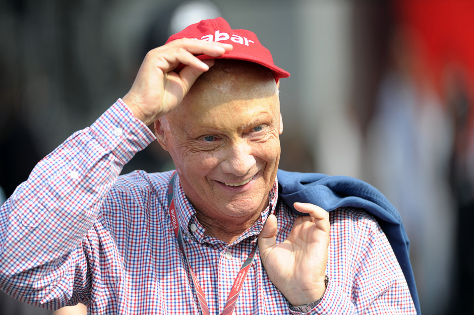 Ex-Formel 1-Star Niki Lauda.