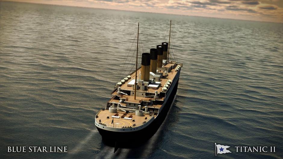 In knapp zwei Jahren heißt es 'Leinen los' für den Titanic-Nachfolger.