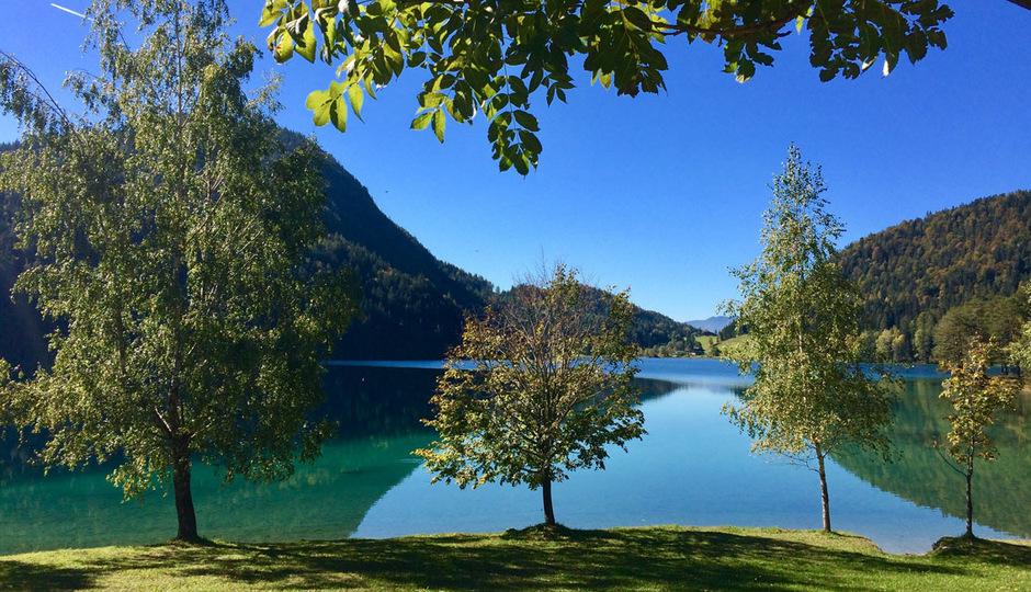 Der Hintersteiner See (Bild) und die Walleralm gingen für Tirol ins Rennen.