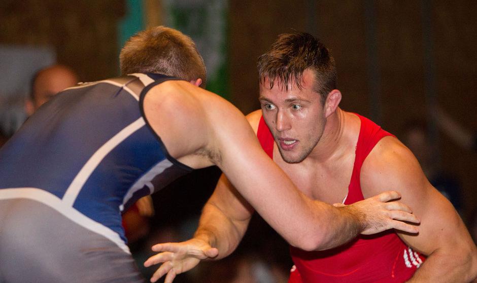 Michael Wagner musste sich gleich in seinem Auftaktkampf geschlagen geben.