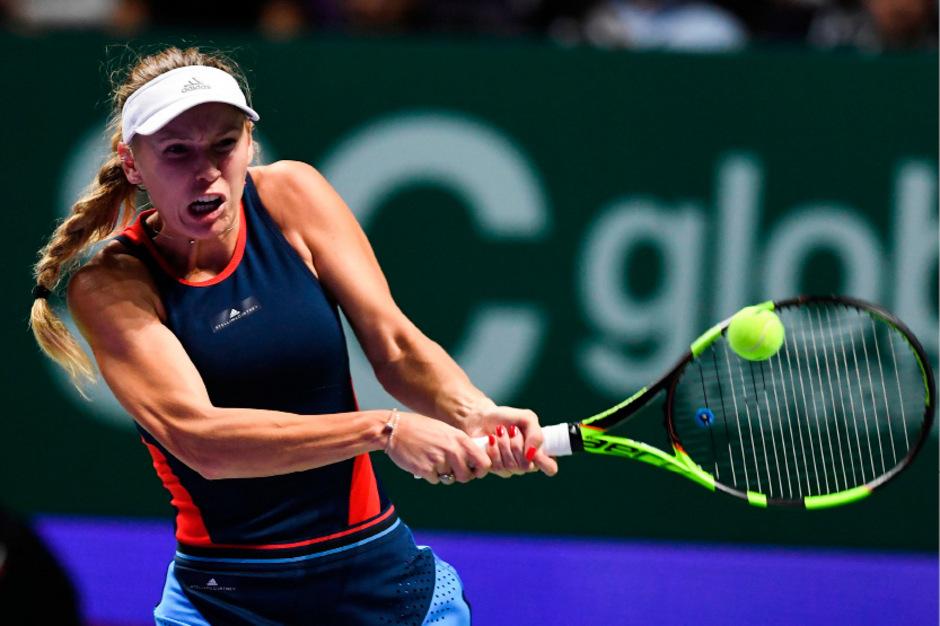 Caroline Wozniacki machte nach dem Aus bei den WTA Finals ihre Krankheit öffentlich.