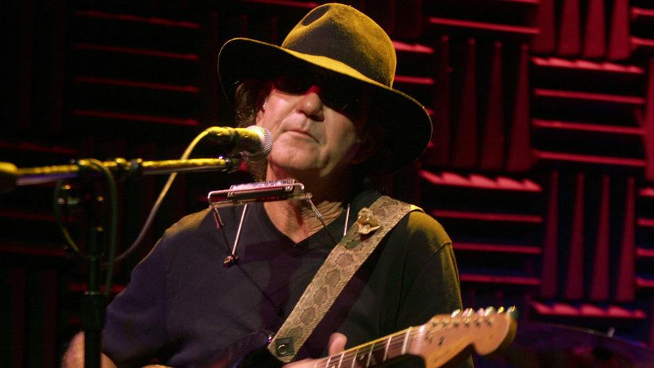 Tony Joe White stand 50 Jahre auf der Bühne.