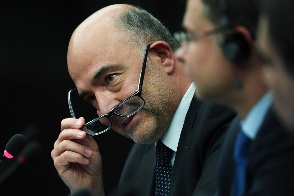 EU-Wirtschaftskommissar Pierre Moscovici.