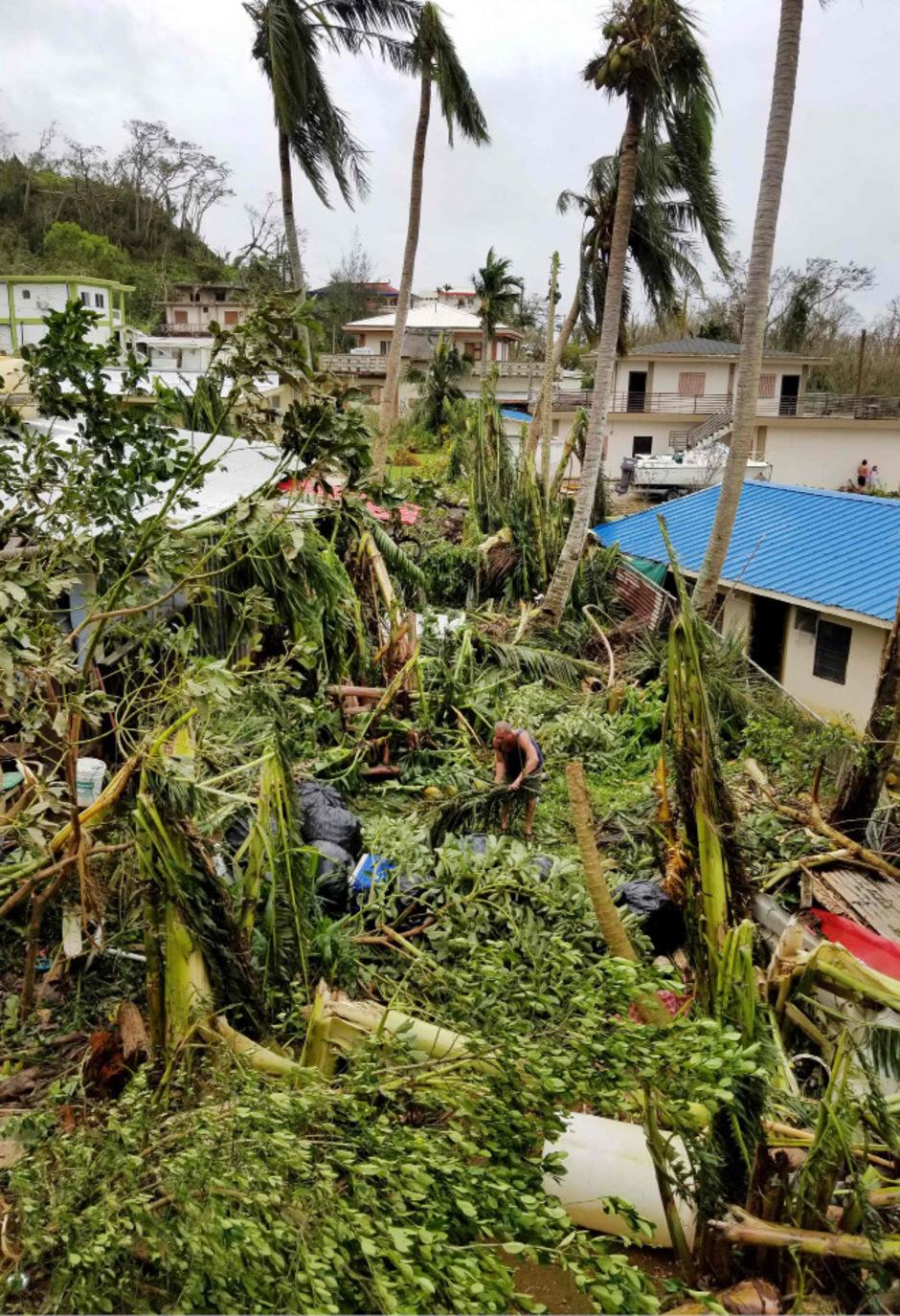 """Taifun """"Yutu"""" wirbelt derzeit mit Böen von bis zu 245 Kilometer pro Stunde im Pazifik. Die nördlichen Marianen wurden bereits getroffen."""