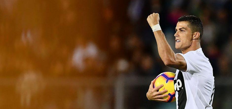 Matchwinner für Juventus: Doppeltorschütze Crisitiano Ronaldo.