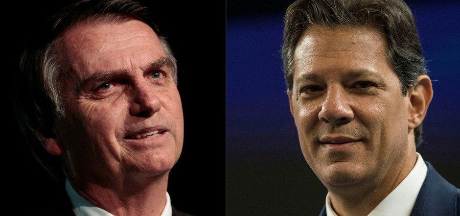 Jair Bolsonaro oder Fernando Haddad: Einer der beiden wird heute zum Präsidenten Brasiliens gewählt?