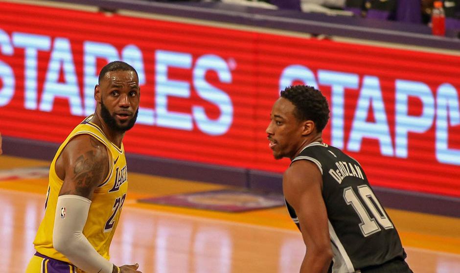 LeBron James und DeMar DeRozan überragten bei ihren Teams.