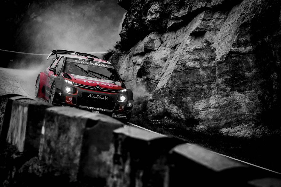 Sebastien Loeb raste bei der Katalonien-Rallye zum Sieg.